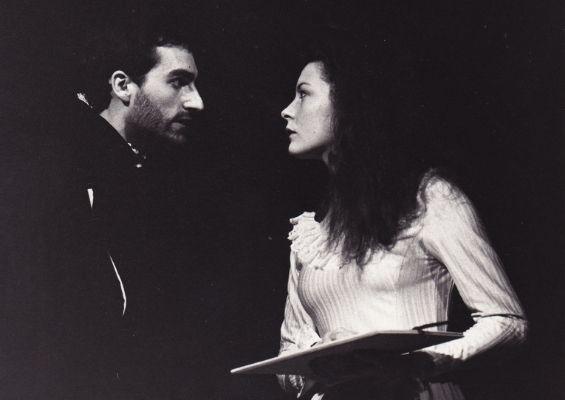 Louise Lemoine Torrès dans le rôle de la Reine, RUY BLAS de Victor Hugo - mise en scène Dominique VIRTON, Théâtre du Renard, Paris