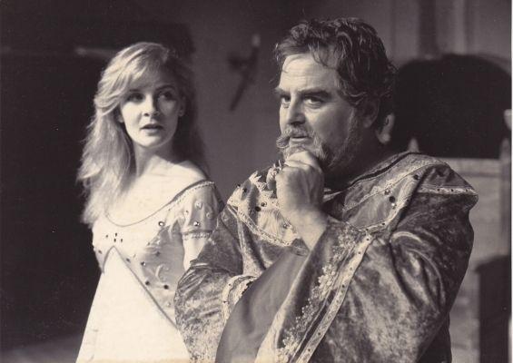 Louise Lemoine Torrès dans le rôle de Lady Godiva de Jean Canolle - mise en scène Jacqueline BOEUF, Théâtre Tête d'Or, Lyon