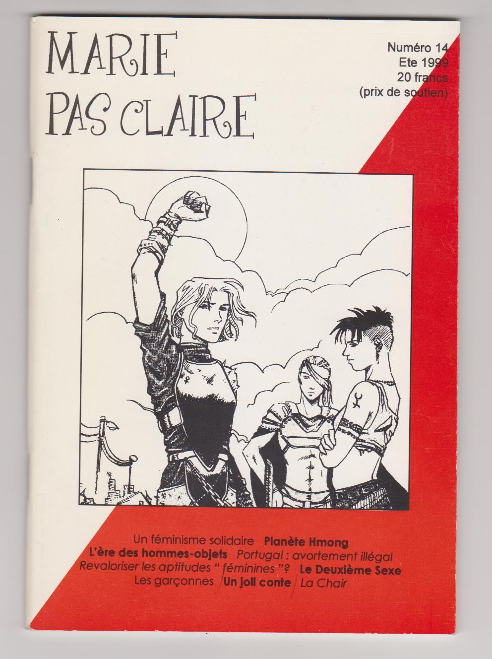 Revue MARIE PAS CLAIRE